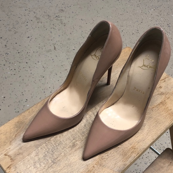 low priced 777f7 4ee26 Christian louboutin so Kate 120 leather pump